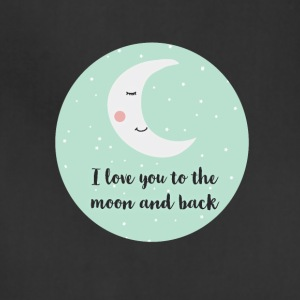 i_love_you_to_the_moon_and_back_a5 Aprons - Adjustable Apron