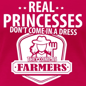Farmer Real Princesses T-Shirts - Women's Premium T-Shirt