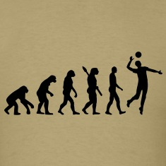 Evolution Volleyball T-Shirts