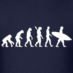 Evolution surfing T-Shirts - Men's T-Shirt
