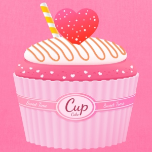 Cupcake hearts - Tote Bag