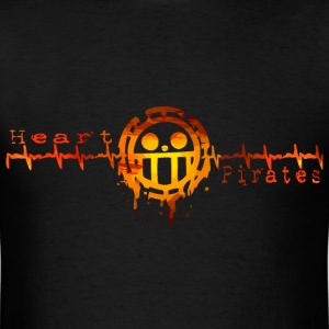 Heart Pirates Logo tshirt - Men's T-Shirt