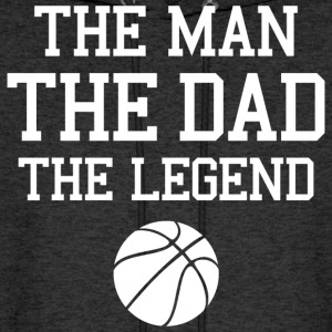 Legendary Basketball Dad Hoodies - Men's Hoodie