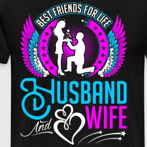 Best Friends For Life Husband And Wife T-Shirts - Men's Premium T-Shirt
