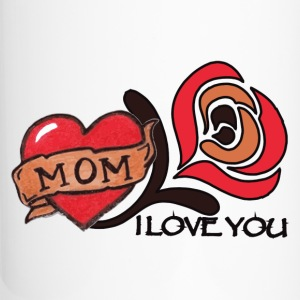 I love you mom - Travel Mug