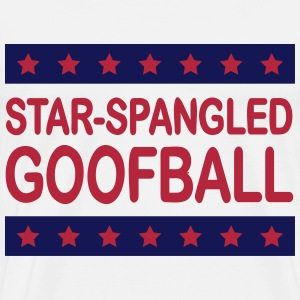 Star-Spangled Goofball 2c - Men's Premium T-Shirt