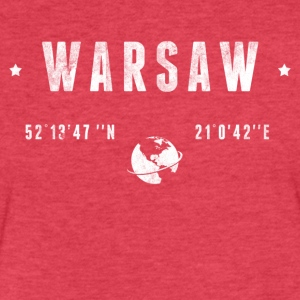 Warsaw T-Shirts - Fitted Cotton/Poly T-Shirt by Next Level
