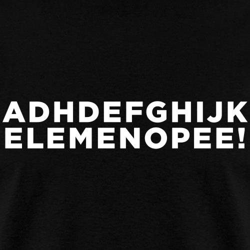 Funny ADHD Alphabet Quote