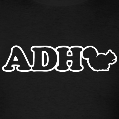 ADHD Squirrel. Attention Deficit Disorder humor