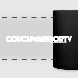 COUCHWARRIORTV Logo Gear Mugs & Drinkware - Full Color Panoramic Mug