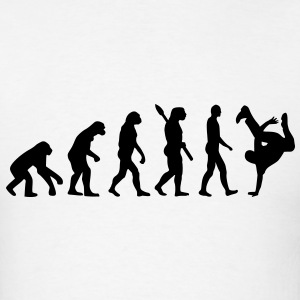Evolution Breakdance T-Shirts - Men's T-Shirt
