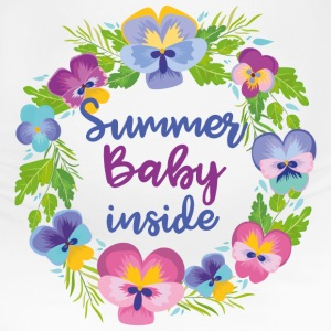 Summer Baby Inside - Women's Maternity T-Shirt