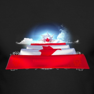 Canada, Canada Flag, Canada T-Shirts, Canada Design,  Canada Art, Canada designer shirt, Canada Tshirt shop,  Quailty Canada Tshirt, Flag of Canada, Canada Long Sleeve Shirts - Men's Long Sleeve T-Shirt by Next Level