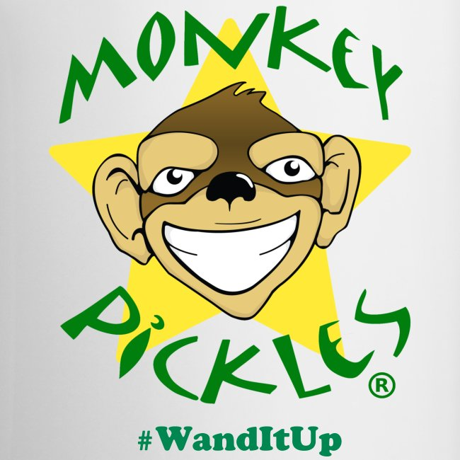 Monkey Pickles Coffee Mug - #WandItUp