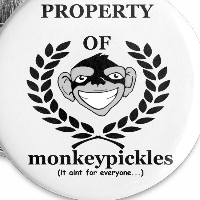 Button Set - Property of Monkey Pickles