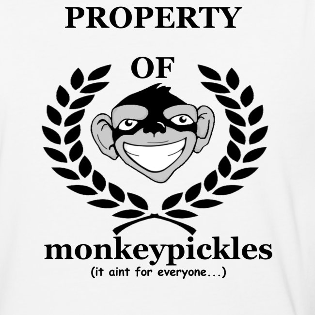 Baseball Shirt - Property of Monkey Pickles