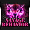 savage behavior women  - Women's Premium T-Shirt