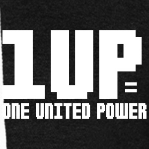 1UP | One United Power Hoodies - Unisex Fleece Zip Hoodie by American Apparel
