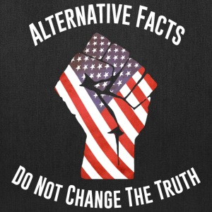 March For Truth Alternative Facts Quote  Bags & backpacks - Tote Bag