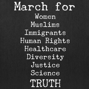 March For Truth  Bags & backpacks - Tote Bag