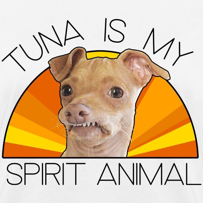 Tuna is my Spirit Animal Women's Tee (orange)