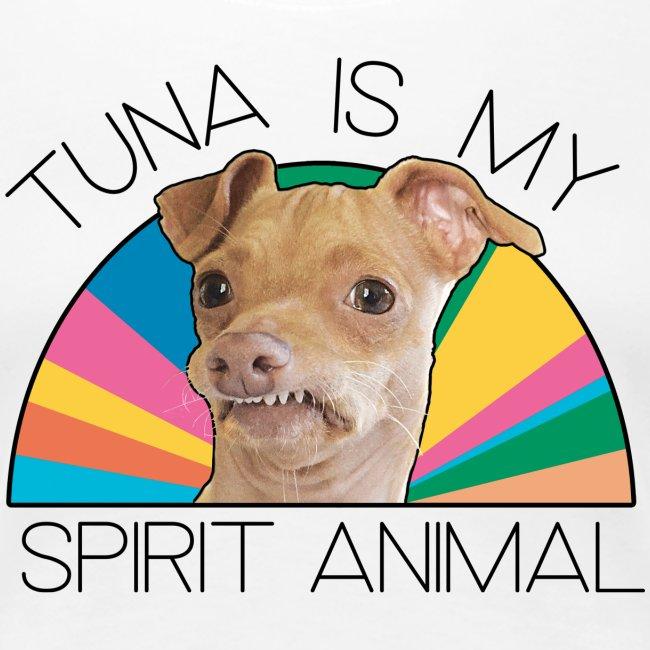 Tuna is my Spirit Animal Women's Premium Tee (multi)