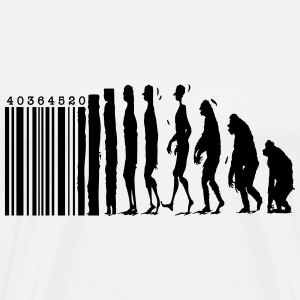 barcode evolution - Men's Premium T-Shirt