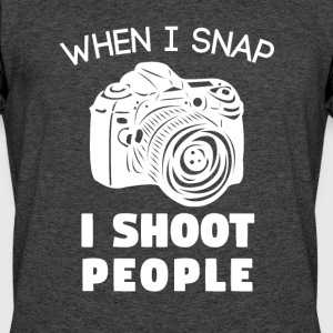 Funny Photographer T-Shirt Funny Photographer Gift - Men's 50/50 T-Shirt