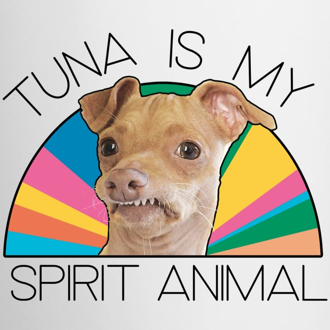 Tuna is my Spirit Animal Ceramic (multi)