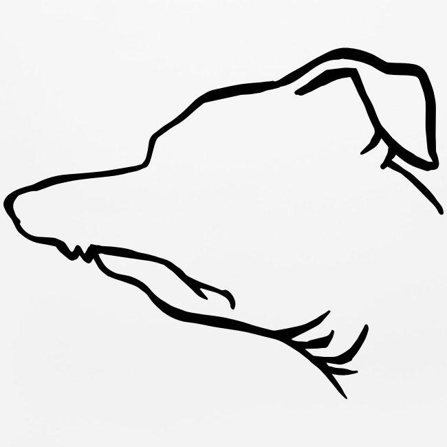 Tuna Profile Mouse Pad