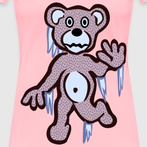 dormant bear coloured - Women's Premium T-Shirt