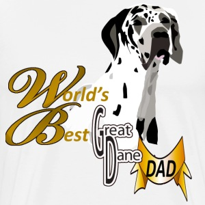 Great Dane Dad - Men's Premium T-Shirt