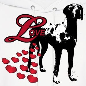 Love A Great Dane - Men's Hoodie