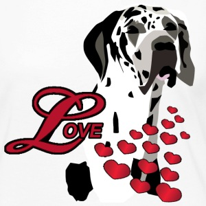 Love A Great Dane - Women's Premium Long Sleeve T-Shirt