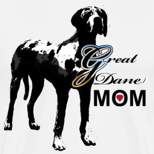 Great Dane Mom - Men's Premium T-Shirt