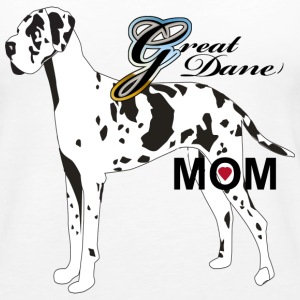 Great Dane Mom - Women's Premium Tank Top