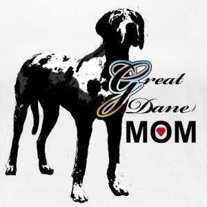 Great Dane Mom - Women's Premium T-Shirt