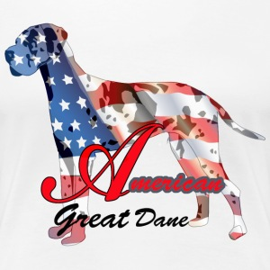 American Great Dane - Women's Premium T-Shirt