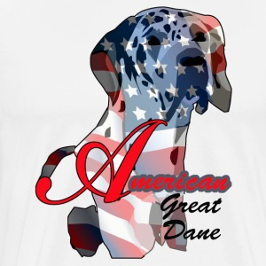 American Great Dane - Men's Premium T-Shirt