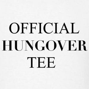Official Hungover Tee T-Shirts - Men's T-Shirt