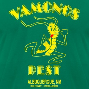 Vamonos Pest Control Logo T-Shirts - Men's T-Shirt by American Apparel