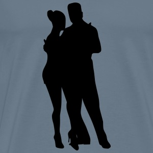 Dancing couple 24 - Men's Premium T-Shirt