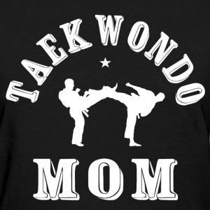 Taekwondo Mom 02 T-Shirts - Women's T-Shirt