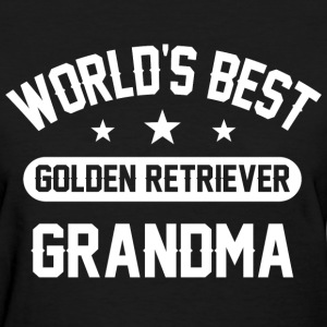 Golden Retriever Grandma T-Shirts - Women's T-Shirt