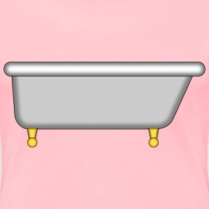 Bathtub Antique - Women's Premium T-Shirt