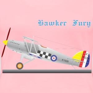 HAWKER FURY - Women's Premium T-Shirt