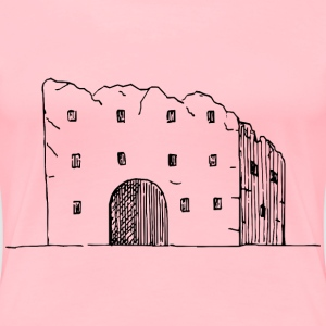Ruined building - Women's Premium T-Shirt