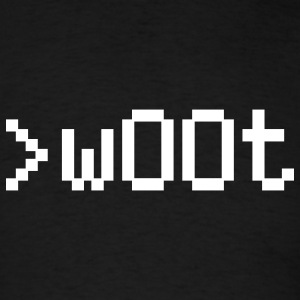 w00t - wOOt - Men's T-Shirt
