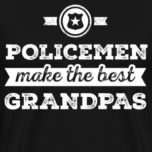Policemen Make The Best Grandpas T-shirt  - Men's Premium T-Shirt