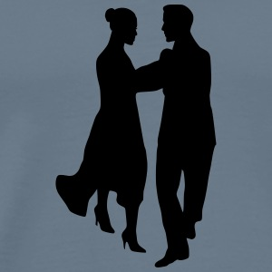 Dancing couple 11 - Men's Premium T-Shirt